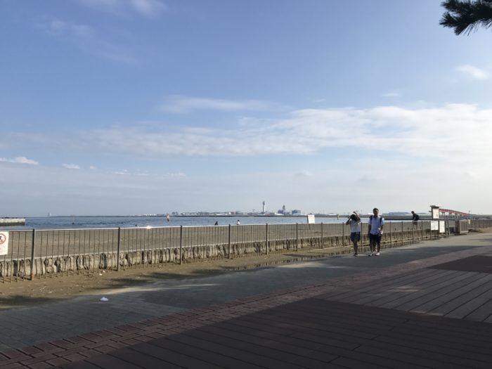 飛行機を近くで見れる城南島海浜公園