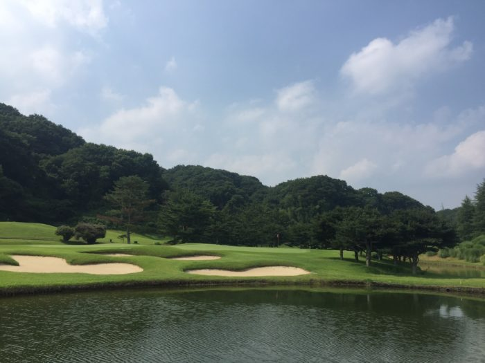 猛暑のなか、ゴルフに行ってきました